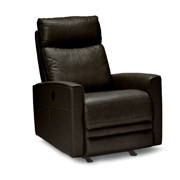 Mcnab Leather Power Rocker Recliner RBSD4196