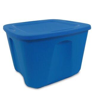 Homz 18 Gallon Storage Tote (Set of 4)  sc 1 st  Wayfair & 18 Gallon Tote   Wayfair