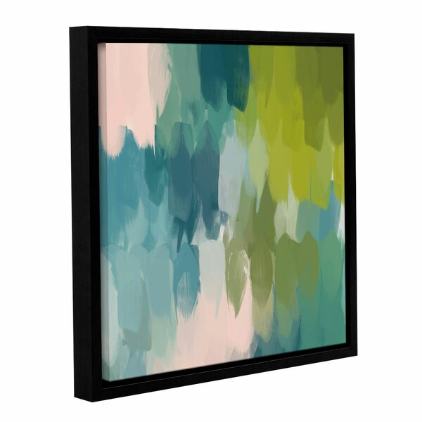 Calm Colors II Framed Painting Print on Wrapped Canvas by Mercury Row