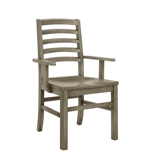 Rader Horizontal Solid Wood Dining Chair (Set Of 2) By Gracie Oaks