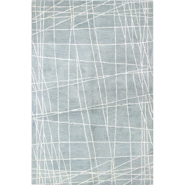 Fornax Hand-Tufted Light Blue Area Rug by Brayden Studio