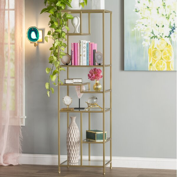 Liviana Etagere Bookcase by Willa Arlo Interiors