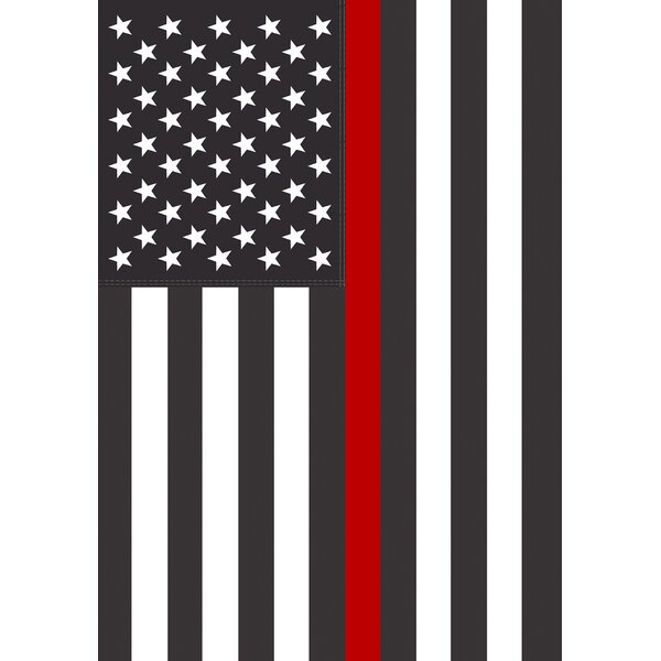 Thin Red Line USA Garden flag by Toland Home Garden