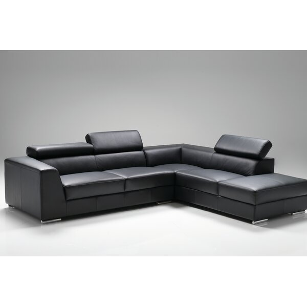 Cesca Right Side Facing Chaise Sectional by Orren Ellis