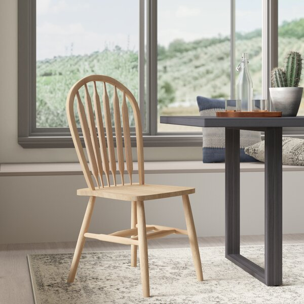 Lynn Arrowback Solid Wood Dining Chair by Mistana