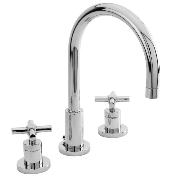 East Linear Lavatory Widespread Bathroom Faucet With Drain Assembly By Newport Brass