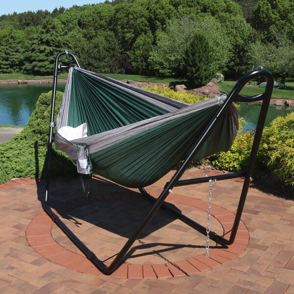 Teresa Camping Hammock with Stand by Freeport Park