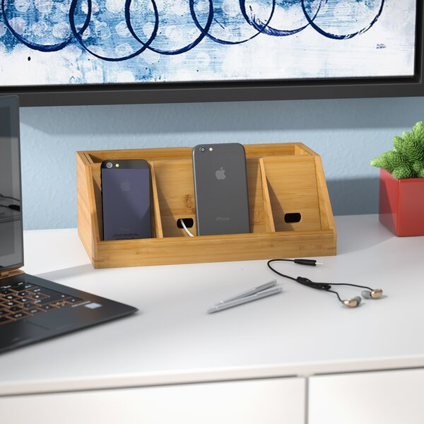 Bamboo Charging Station by Rebrilliant
