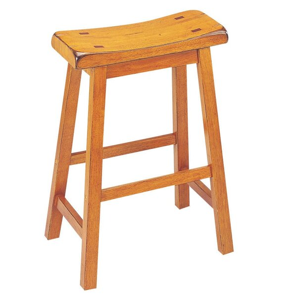 Moser 24 Bar Stool (Set of 2) by August Grove