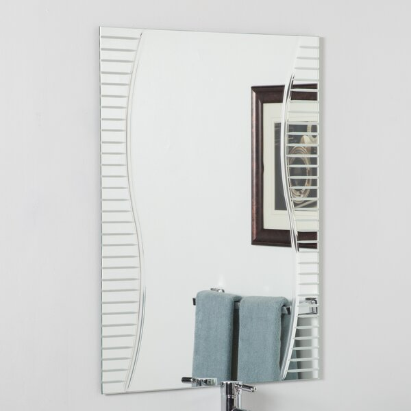 Cherita Modern Wall Mirror by Orren Ellis
