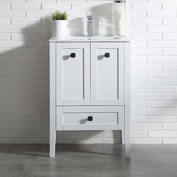 Andora 24 Single Bathroom Vanity Set by Ove DecorsAndora 24 Single Bathroom Vanity Set by Ove Decors