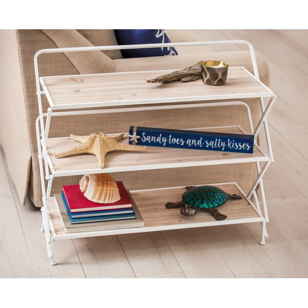 Hollifield 29.5 H x 34.25 W Collapsible Shelving Unit by Highland Dunes