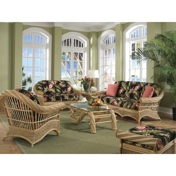 Rivers Conservatory 6 Piece Living Room Set by Bayou Breeze