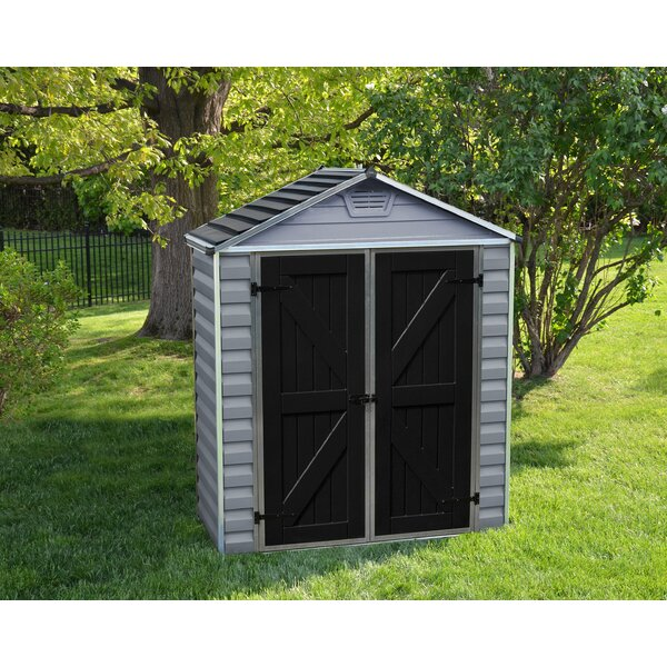 SkyLight™ 6 ft. 1 in. W x 3 ft. 4 in. D Plastic Storage Shed by Palram