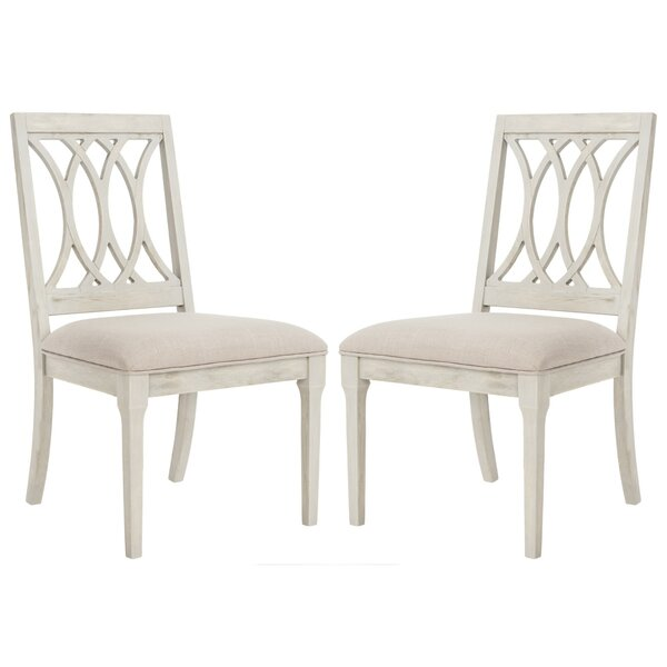 Richland Upholstered Dining Chair (Set of 2) by Rosecliff Heights Rosecliff Heights