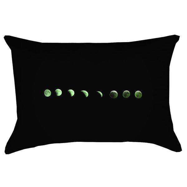 Enciso Moon Phases Rectangular Outdoor Lumbar Pillow