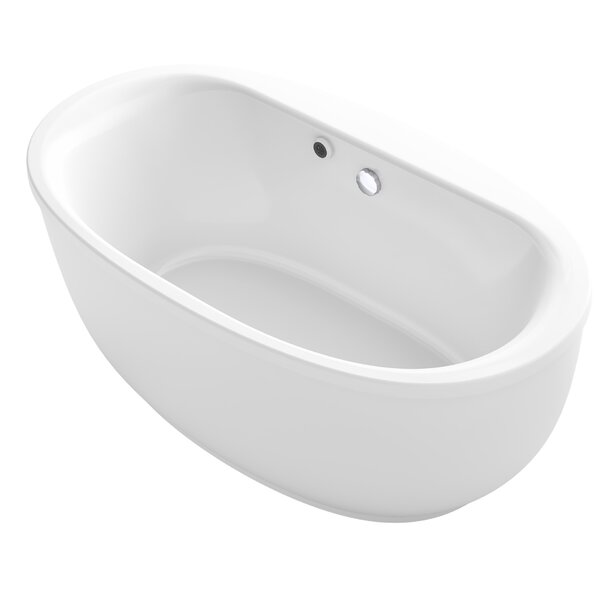 Sunstruck® 66 x 36 Oval Freestanding Soaking Bathtub by Kohler