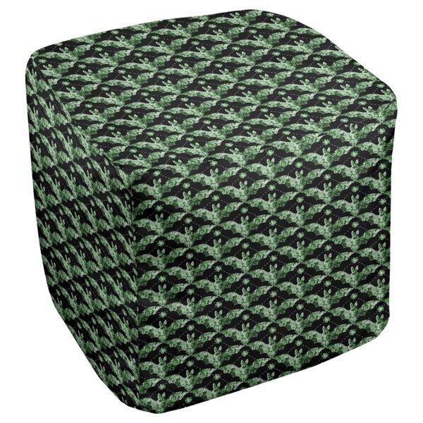 Leffel Bats Cube Ottoman by Ebern Designs