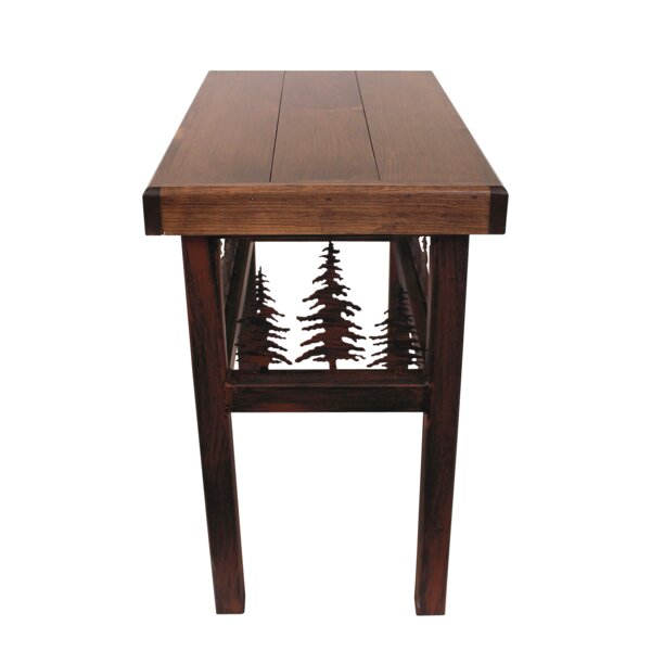 Connor Feather End Table by Millwood Pines