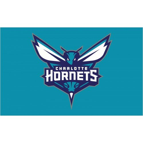 NBA Charolette Hornets Polyester 3 x 5 ft. Flag by NeoPlex