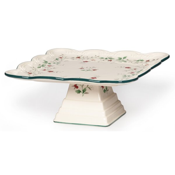 Winterberry Cake Stand by Pfaltzgraff