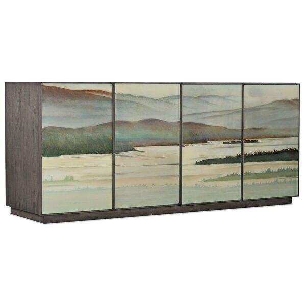 Melange 4 Door Accent Cabinet by Hooker Furniture Hooker Furniture