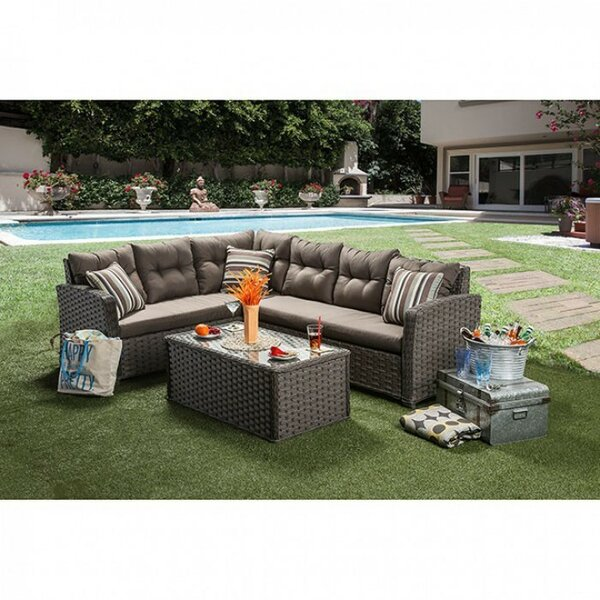 Contemporary Patio Sectional by Benzara