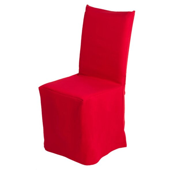 Review Pampa Box Cushion Dining Chair Slipcover