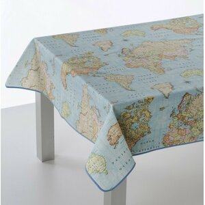 Oceans Oilcloth Tablecloth