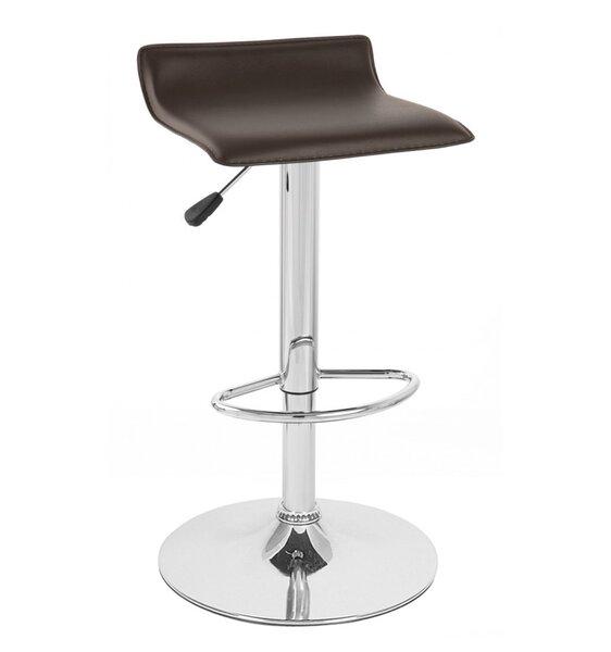 Sigma Adjustable Height Swivel Bar Stool (Set of 4) by Vandue Corporation