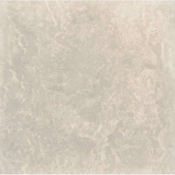 Tuscany Platinum 18 x 18 Travertine Field Tile