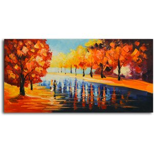 Autumn Paradise' Painting on Canvas by Omax Decor