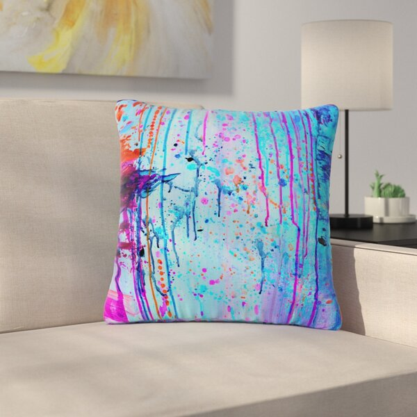 Ebi Emporium Happy Tears Outdoor Throw Pillow by East Urban Home