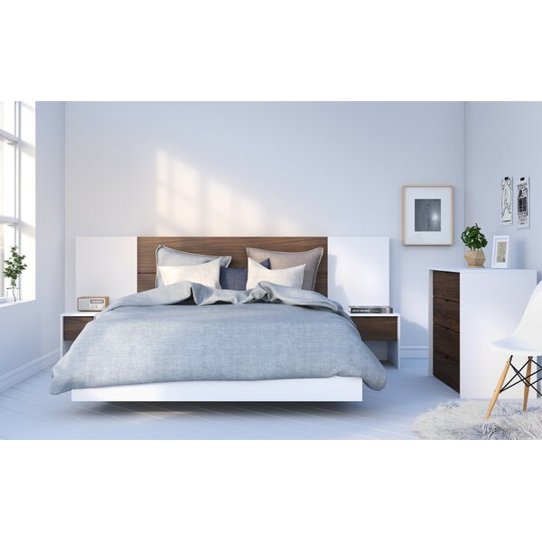 Kora Platform 4 Piece Bedroom Set by Union Rustic
