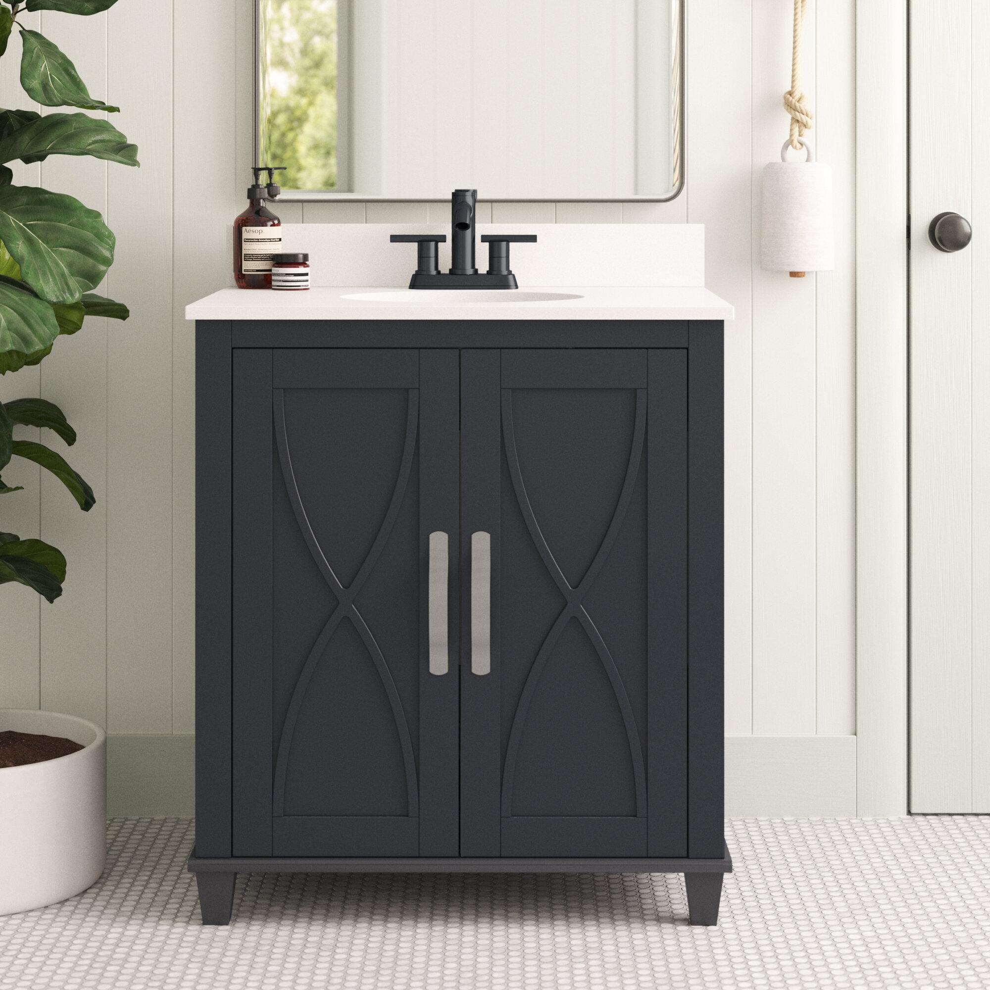 Sand Stable Briana 30 Single Bathroom Vanity Set Reviews Wayfair