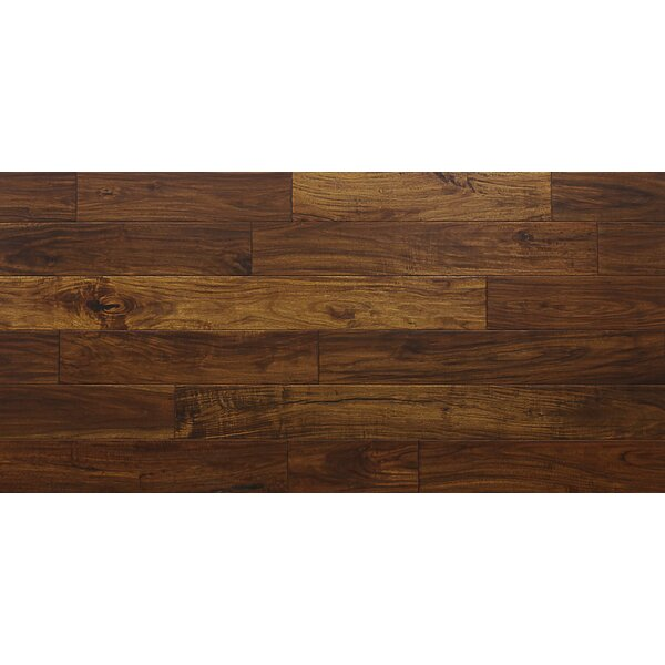 Philip 7-1/2 Engineered Acacia Hardwood Flooring in Brown by Majesta