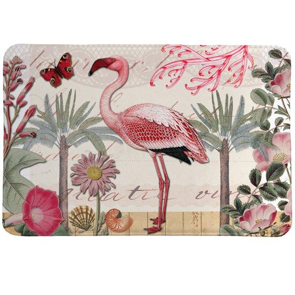 Hammonds Botanical Flamingo Kitchen Mat