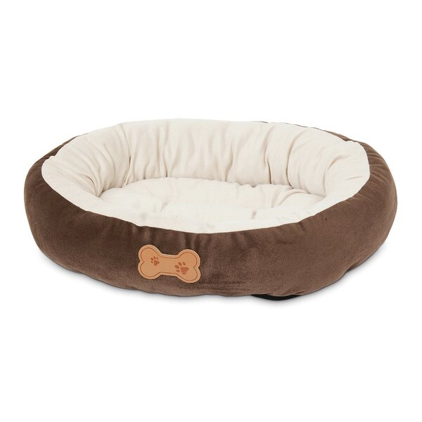 Round Bolster Dog Bed by Petmate