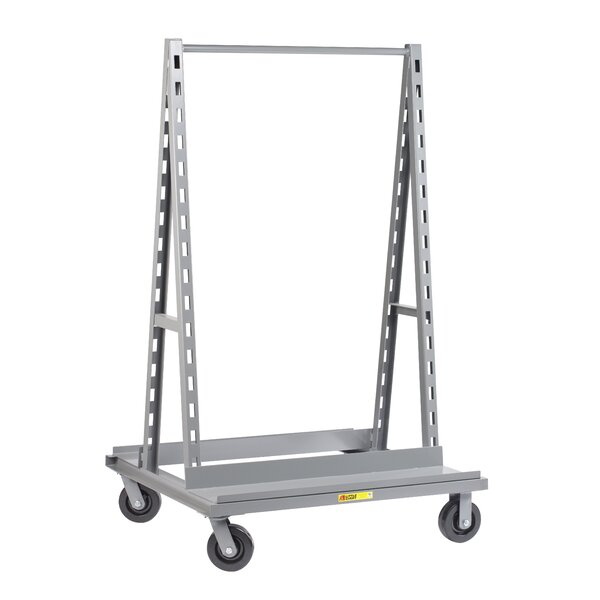 67 Adjustable Tray A-Frame Shelf Truck by Little Giant USA