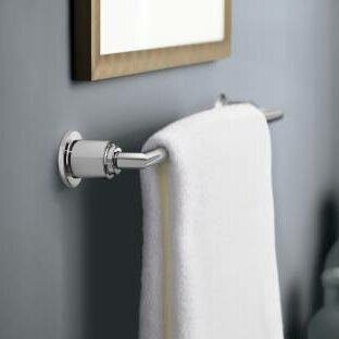 Arris 24 Wall Mounted Towel Bar by Moen