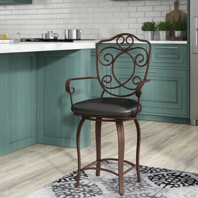 Swivel Amp With Arms Bar Stools You Ll Love In 2020 Wayfair