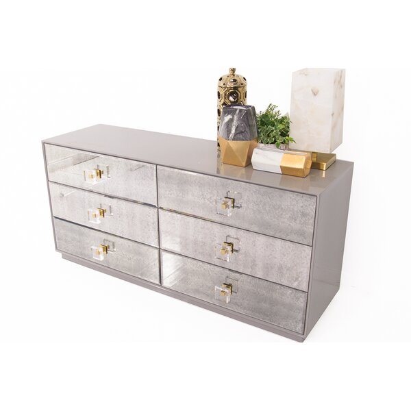 Juliette 6 Drawer Double Dresser by ModShop