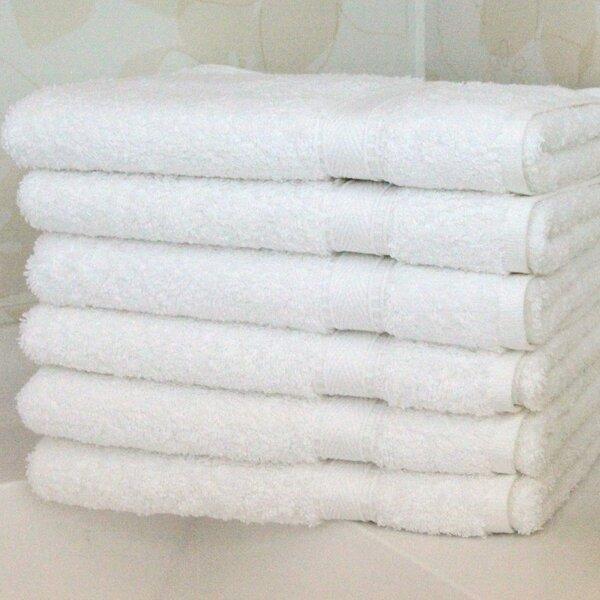 6 Piece Terry Cloth Hand Towel Set by Linum Home Textiles