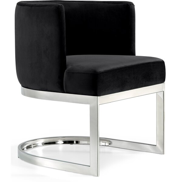 Hobson Upholstered Wingback Arm Chair By Mercer41