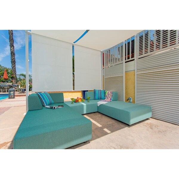 Merkley Patio 5 Piece Sofa Seating Group with Cushions by Latitude Run