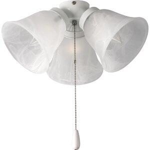 3-Light Branched Ceiling Fan Light Kit