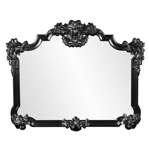 Ornate Glam Arched Accent Mirror by Astoria Grand