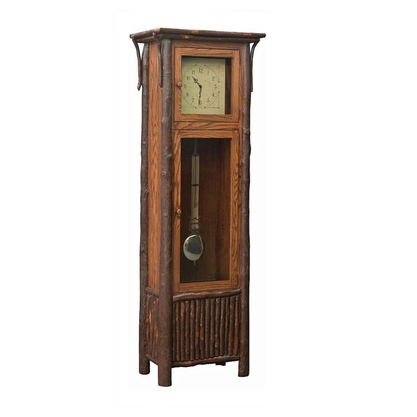 Rustic 84 Grandfather Clock by Loon Peak
