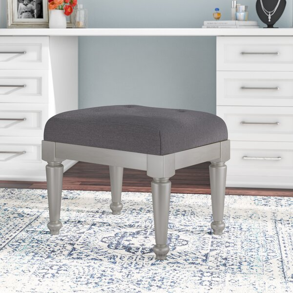 Guillaume Upholstered Vanity Stool by Willa Arlo Interiors