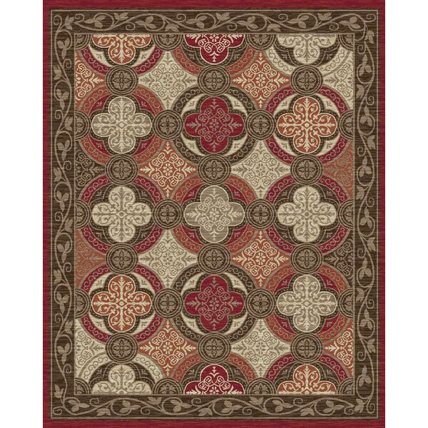 Oakwood Red Area Rug by Rugs of Dalton
